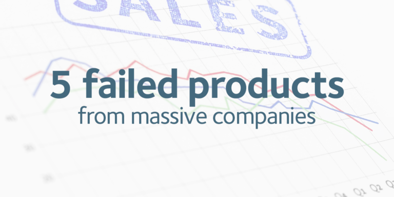5 failed products from massive companies / Made Simple